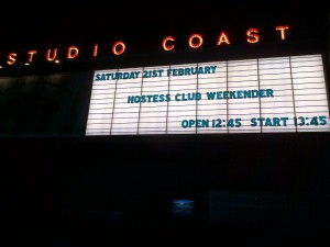 Hostess Club Weekender、2月21日