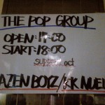 The Pop Group_Liquid Room Ebisu